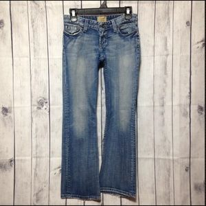 BKE Jeans - BKE Star-18 Low Rise Boot Cut Stretch Blue Jeans
